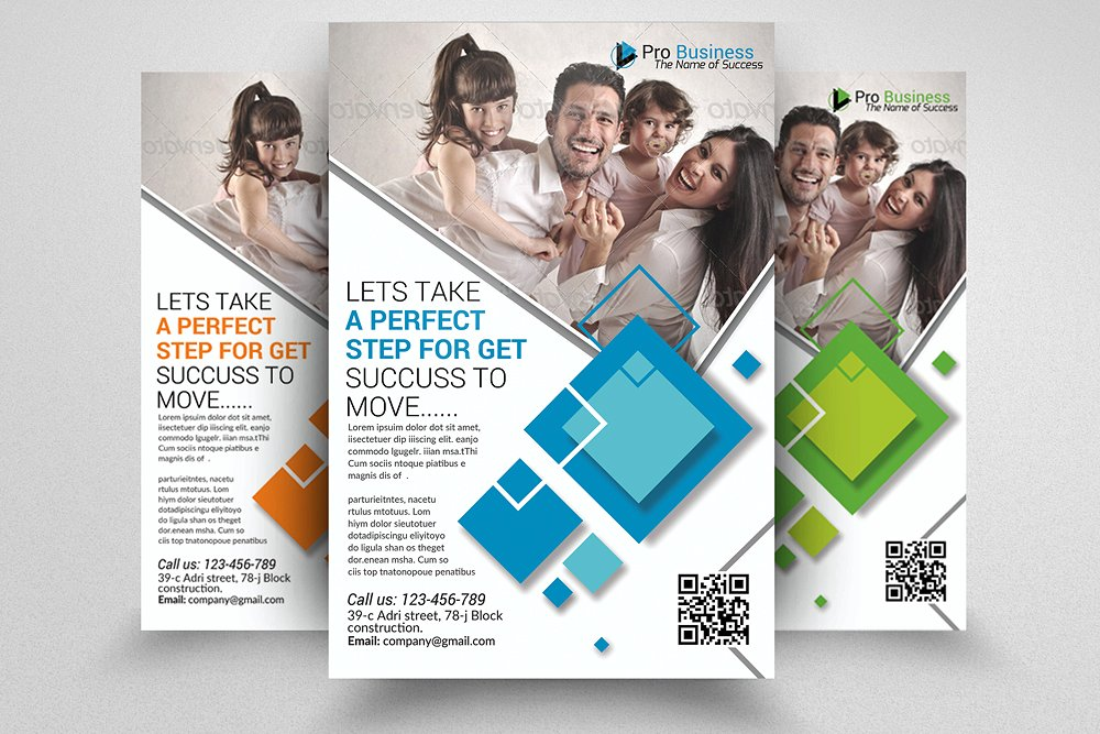 Life Insurance Agency Flyer Template 2