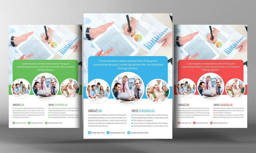 Insurance Agency Flyer Template 3
