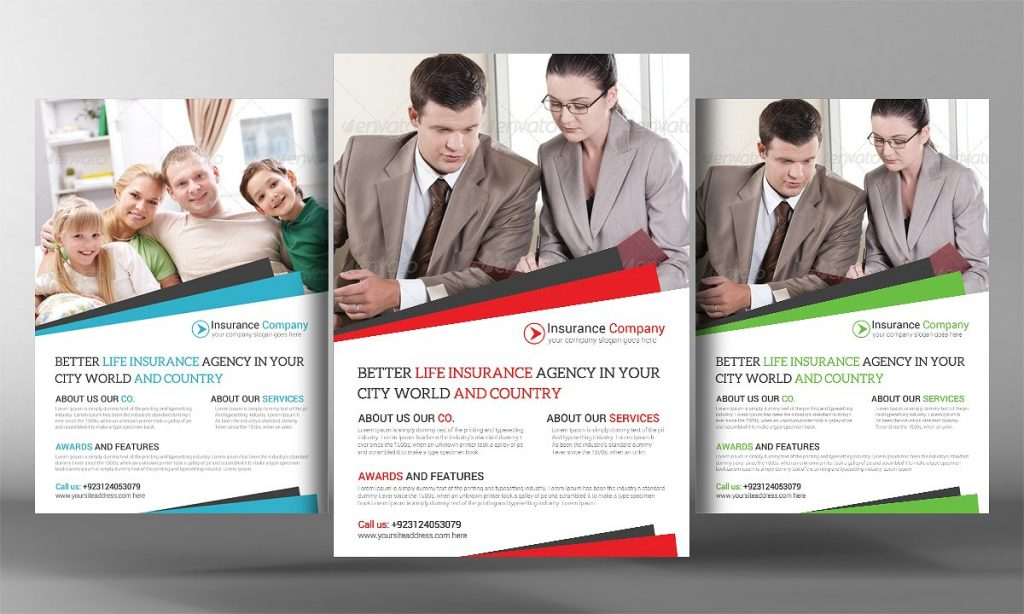 Insurance Agency Flyer Template