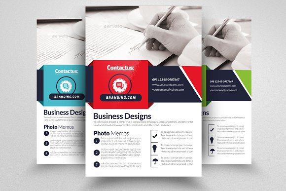 Insurance Company Business Flyer