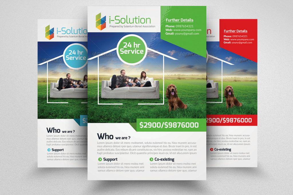 Life Insurance Business Flyer