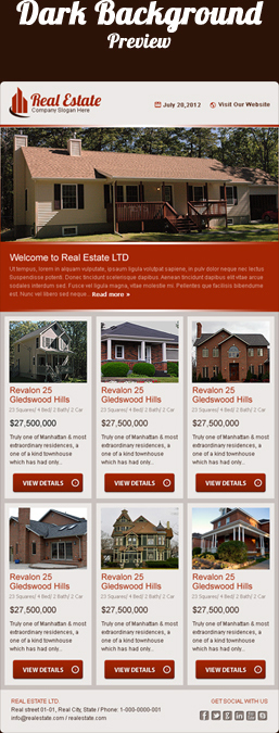 Real Estate Email Template