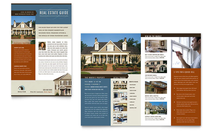 Residential Realtor Newsletter Template