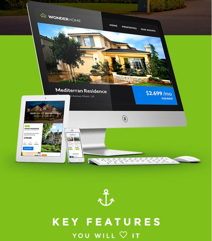 WonderHome Real Estate Email Template Builder Access
