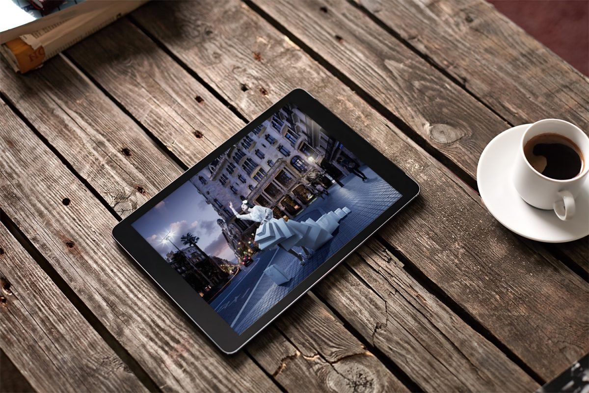 Free Tablet PC Mockup