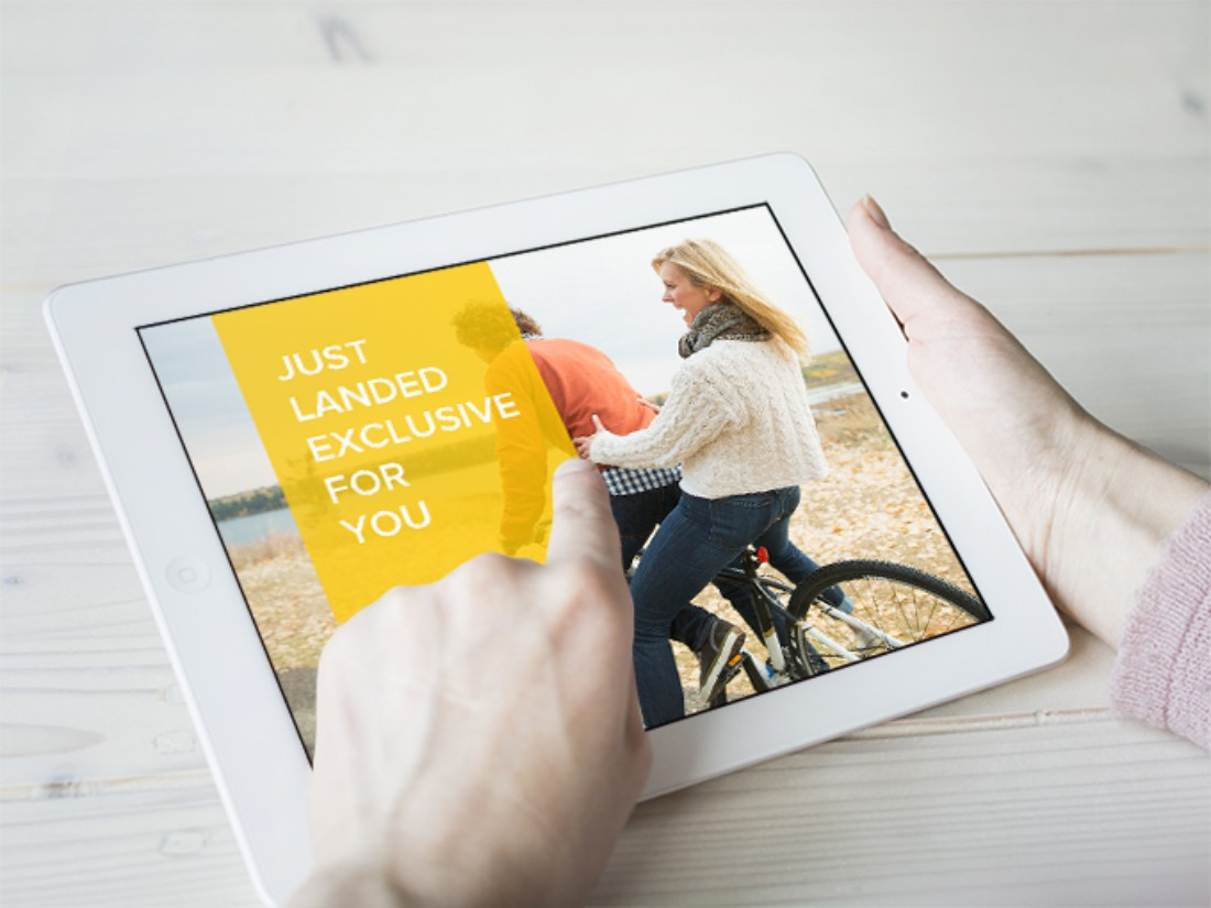 iPad Photo Mockup Free PSD