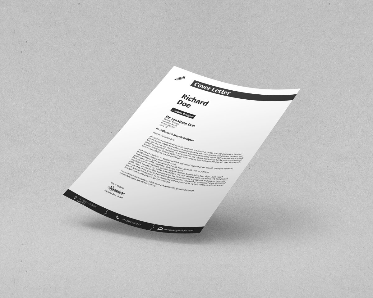 indesign resume template 11