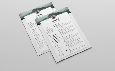 indesign-resume templates 7