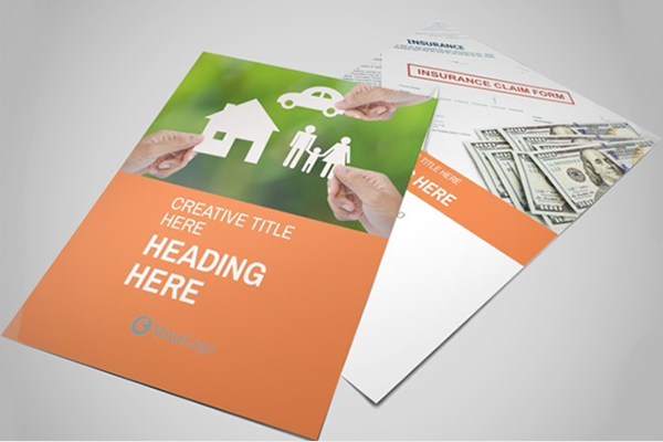 Family Insurance Agency Flyer Template