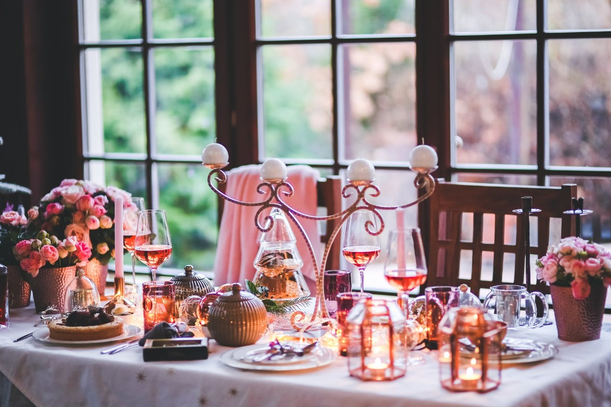 Beautiful Christmas Table