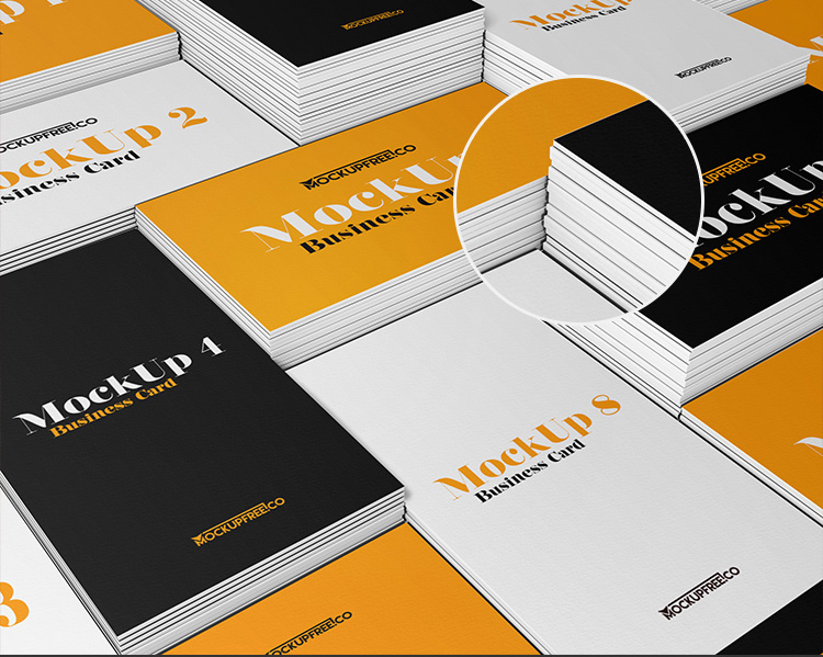 Business Card Free PSD Mockups