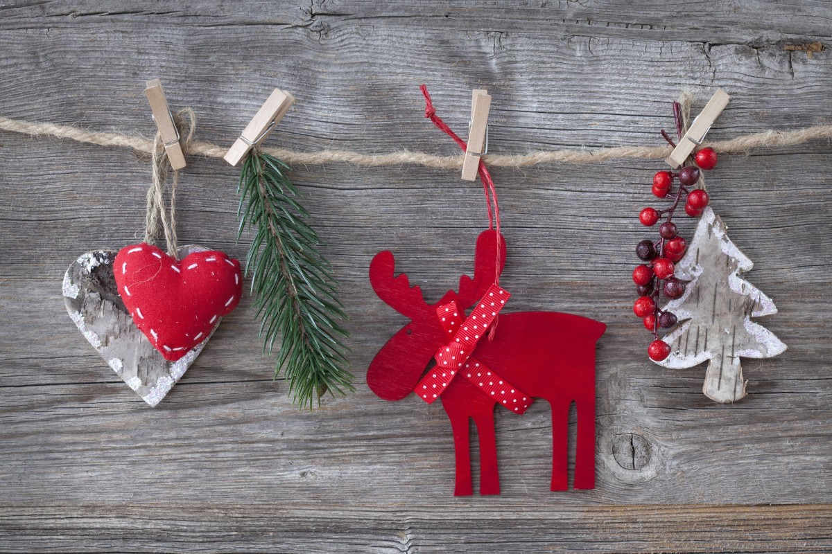 Heart and Deer Decorations