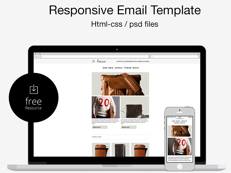 html Responsive Email Template