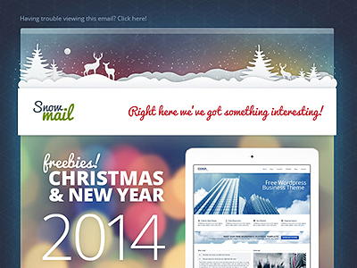 Free Xmas Email Templates