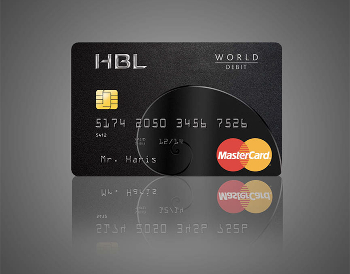 HBL-World-Debit-Card