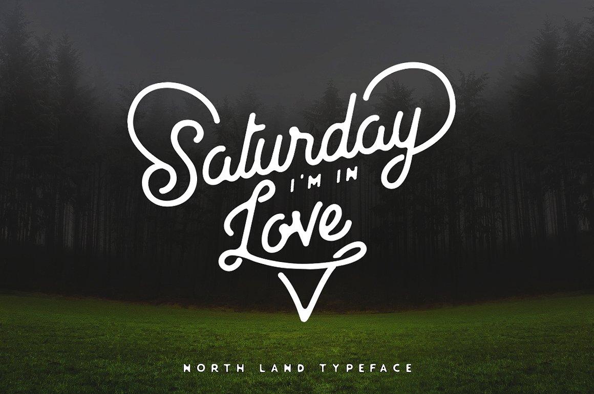 North Land Typeface