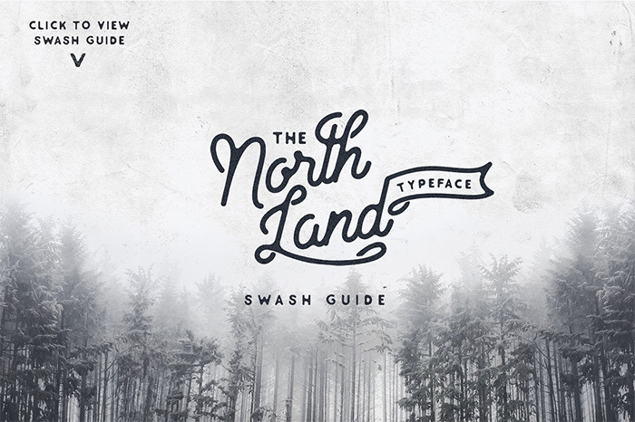 North-Land-Typeface