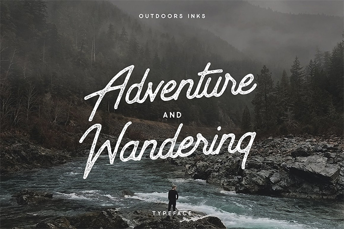Outdoors-Inks-Typeface