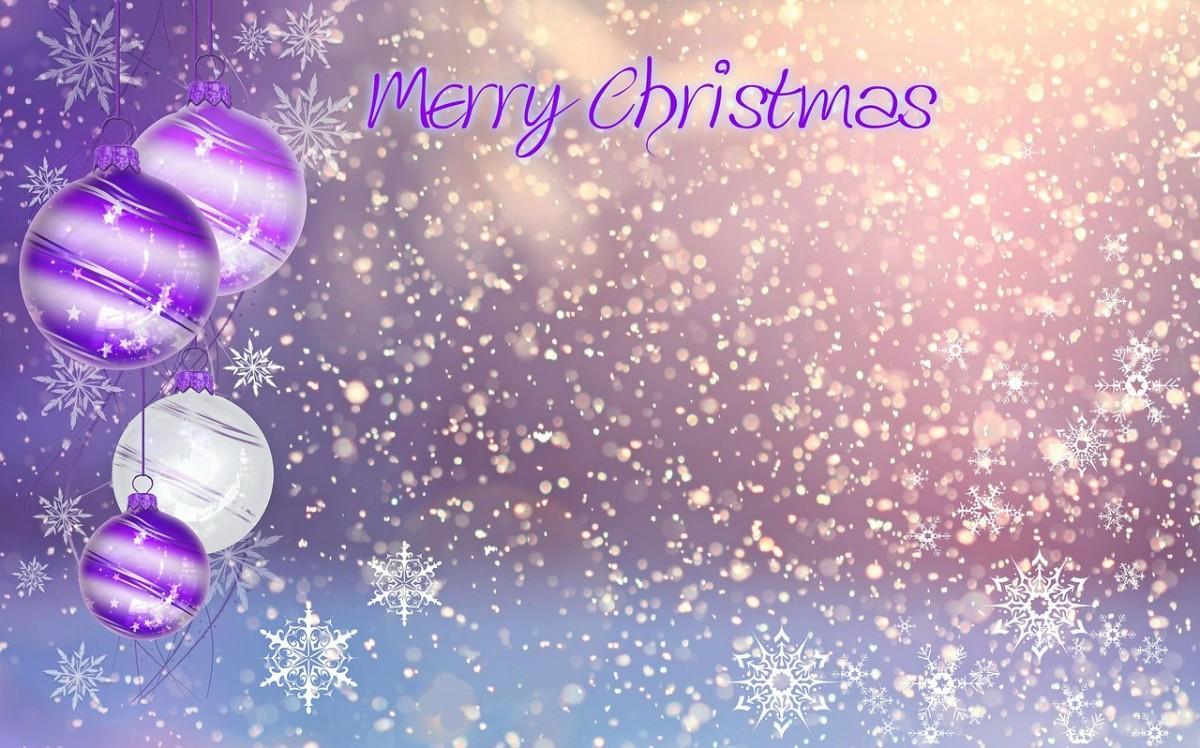 Purple Bright Christmas