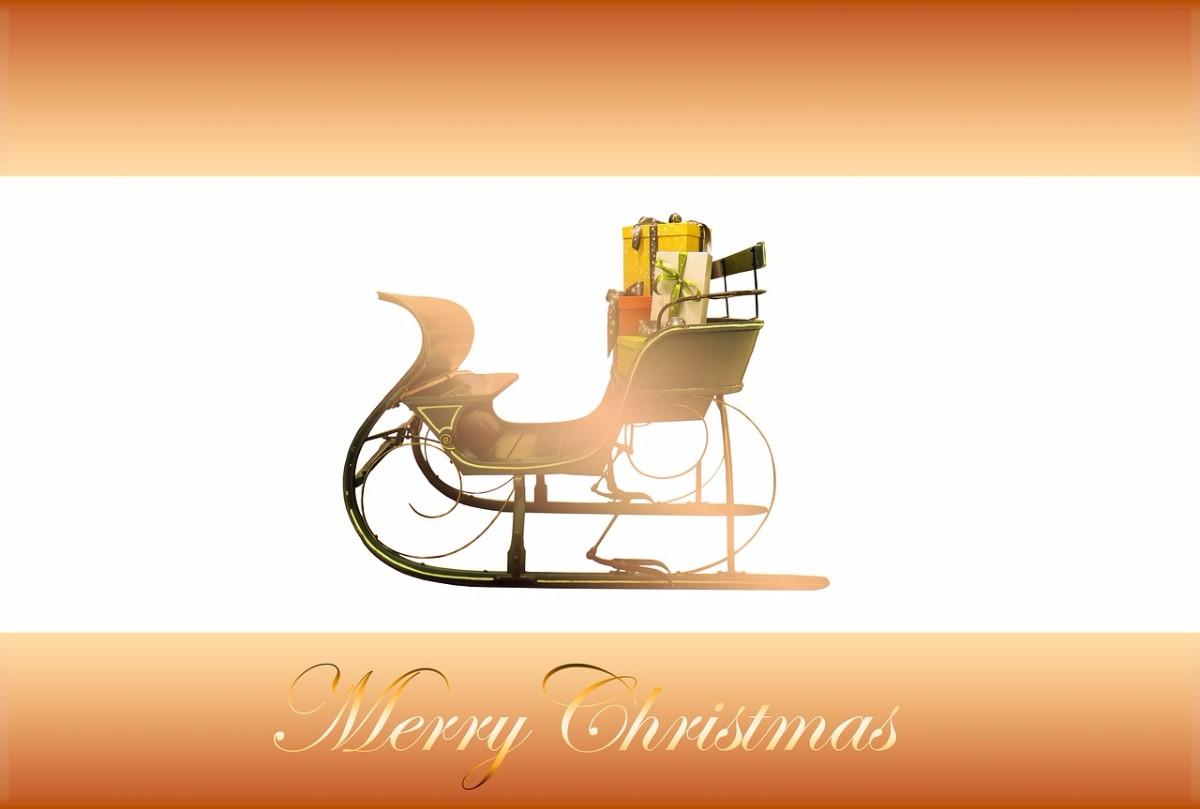 Sled Christmas