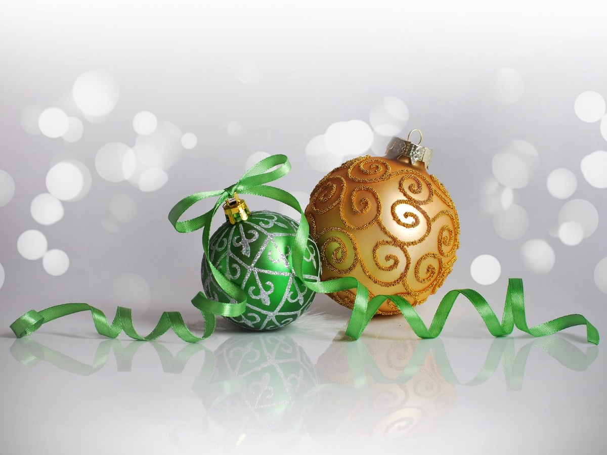 Beautiful Christmas Balls Decoration