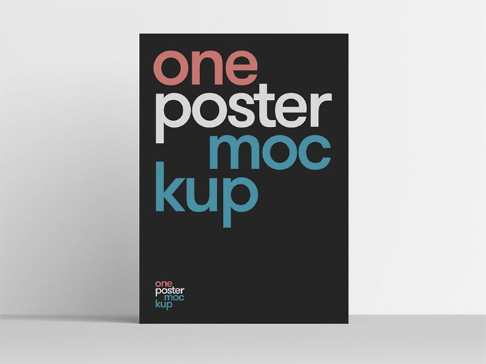 clean-poster-psd