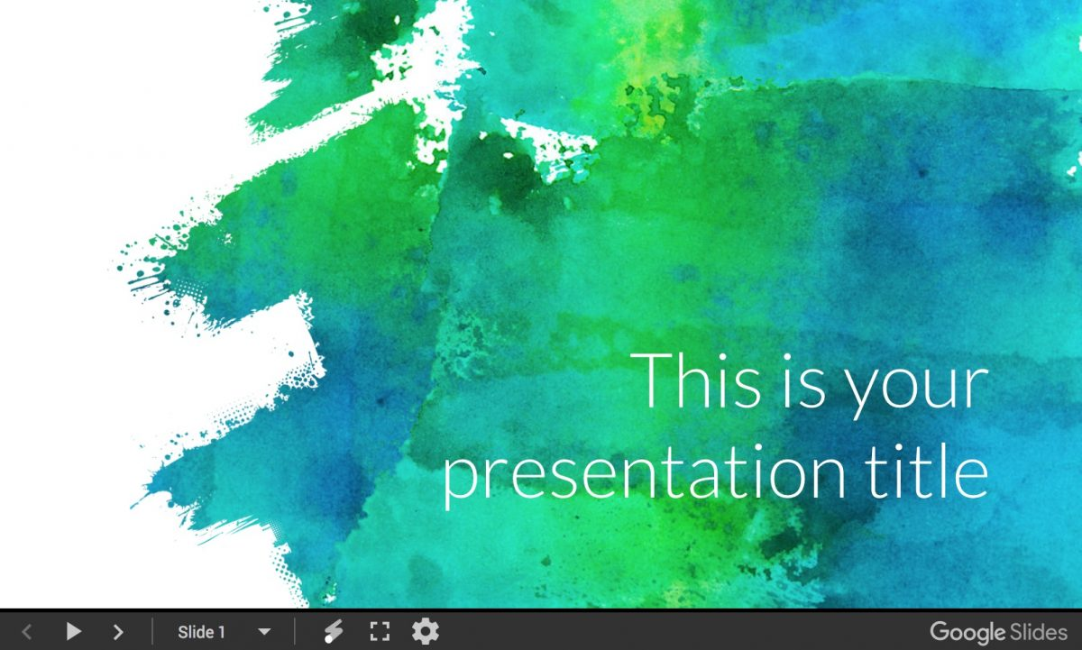 Eglamour presentation template