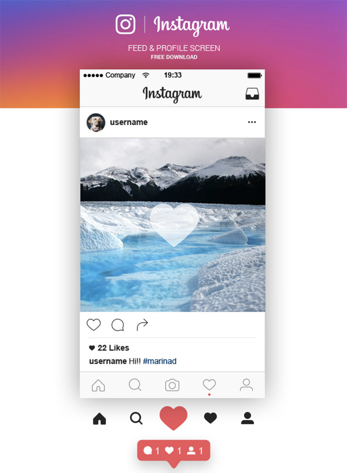 Top 27 Free PSD Instagram Mockup Templates (Updated 2018)