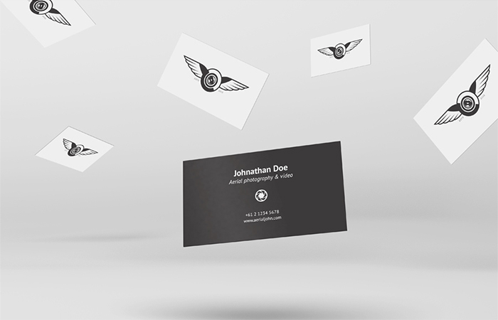 flying-business-cards