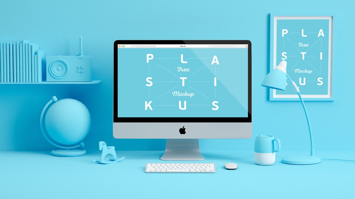 40 Free Imac Mockup Psd Templates Updated 2018