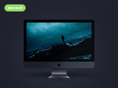 Free Imac Pro New 2017 PSD Mockup