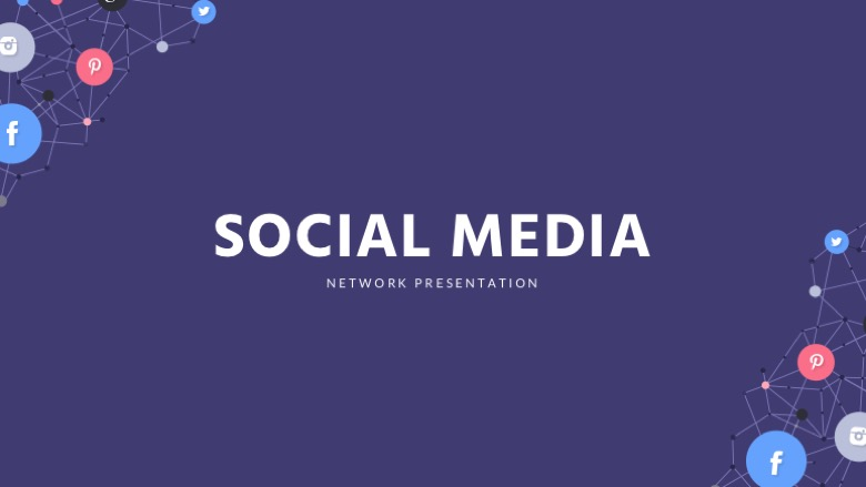 Free Social Media Google Slides Template