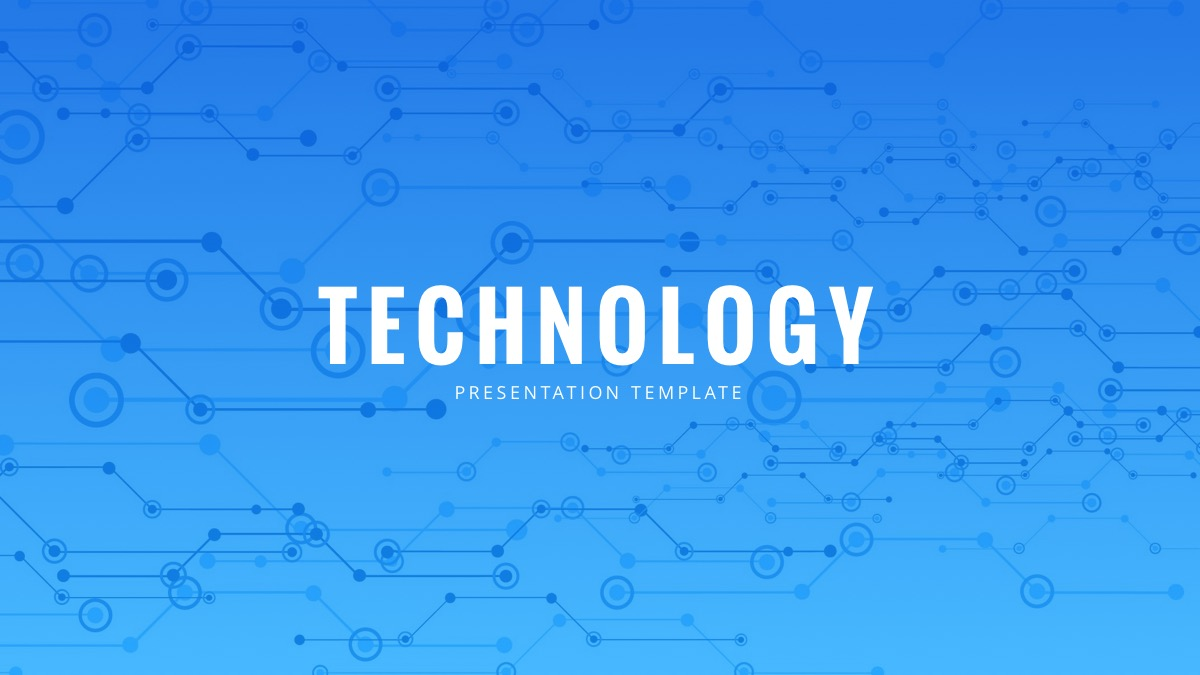 Free Technology Google Slides Template
