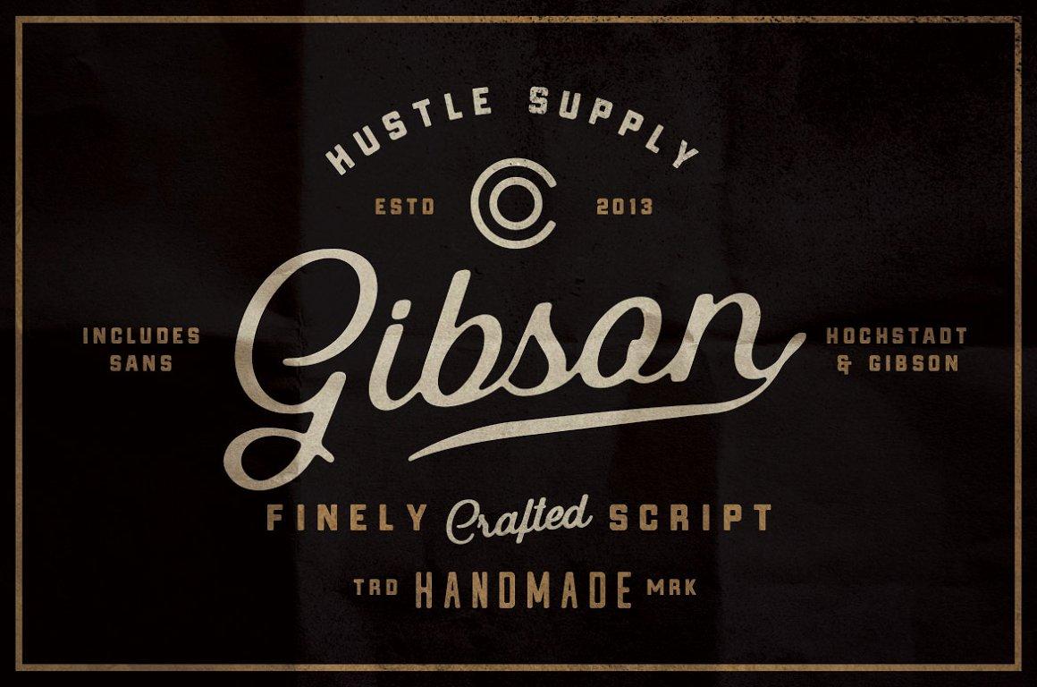 Gibson Script Extras