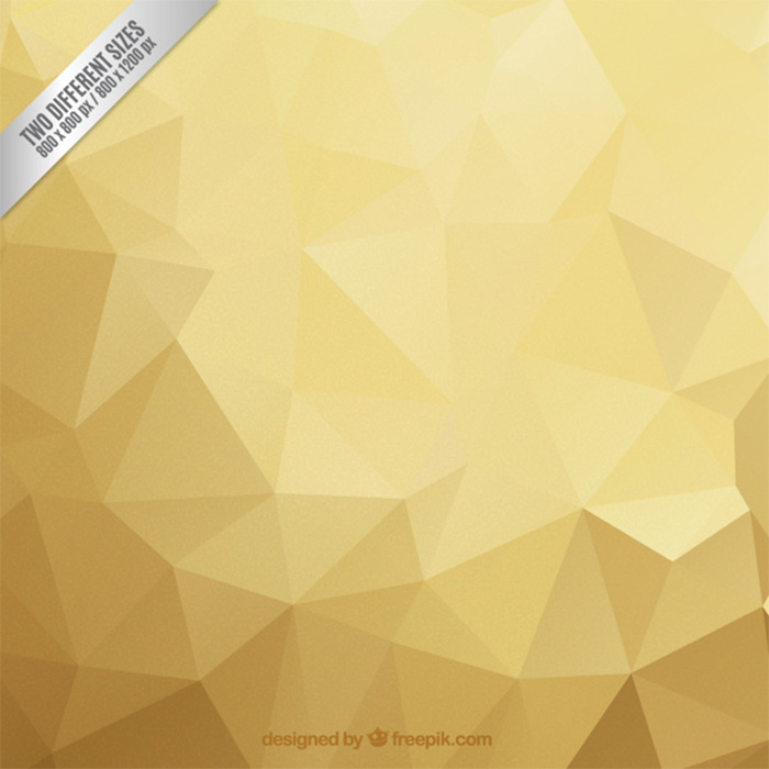 gold-polygon