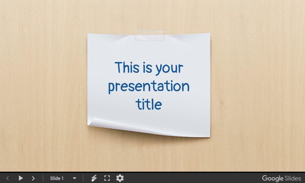 Jaques presentation template