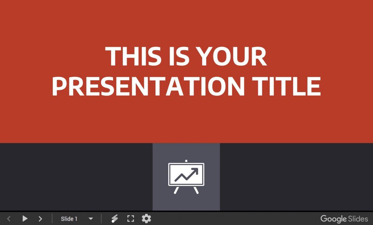 Laertes presentation template