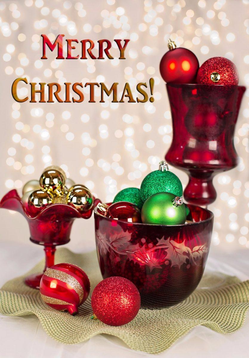 Christmas Cup and Balls