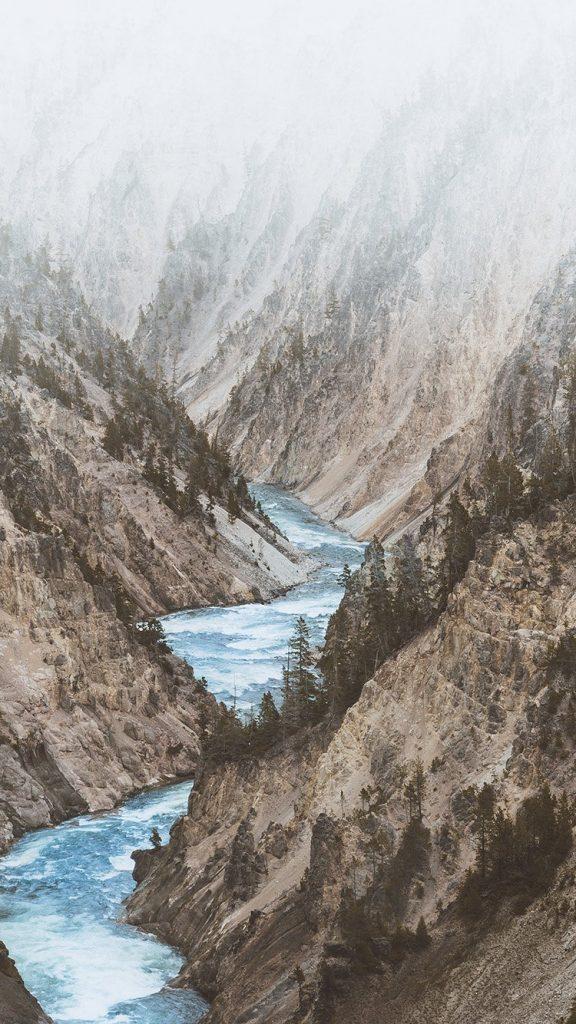 mountain-lake-nature-white