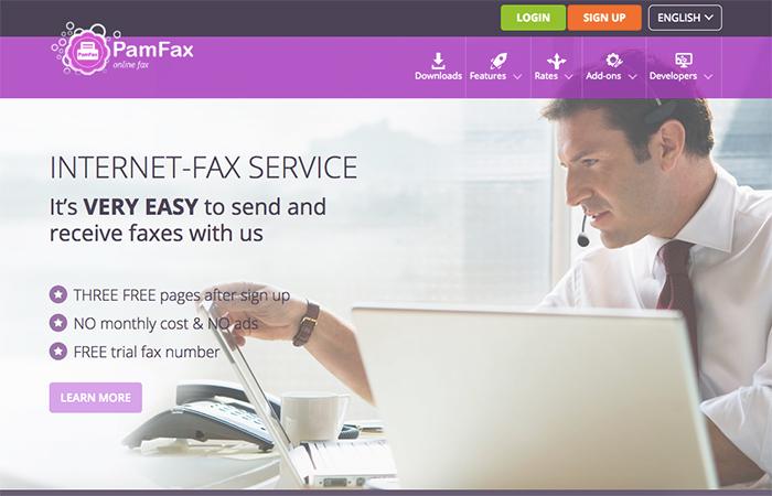 pam-fax
