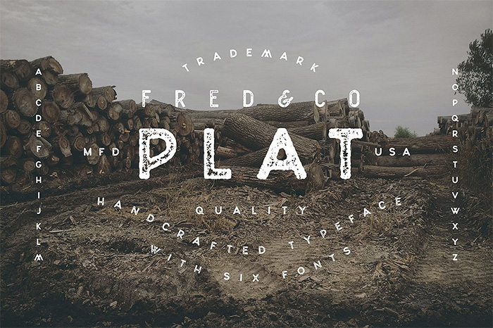 plat-rubber-stamp-font