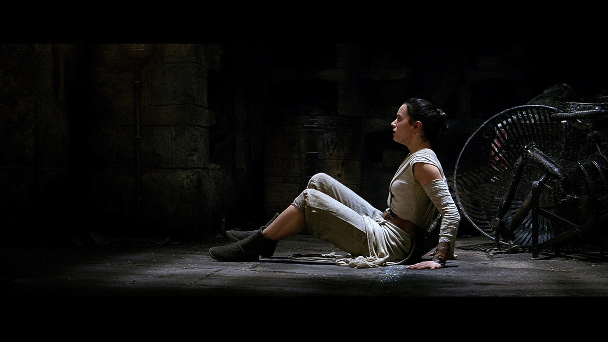 rey black star wars wallpaper