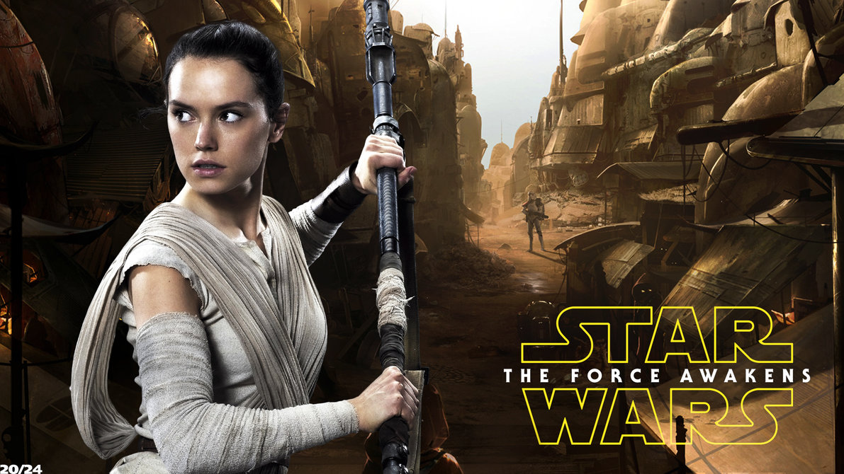 rey star wars wallpaper 1
