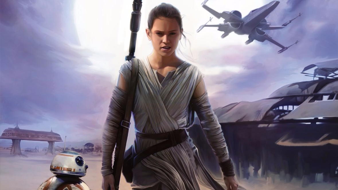 rey star wars wallpaper at Niima Outpost