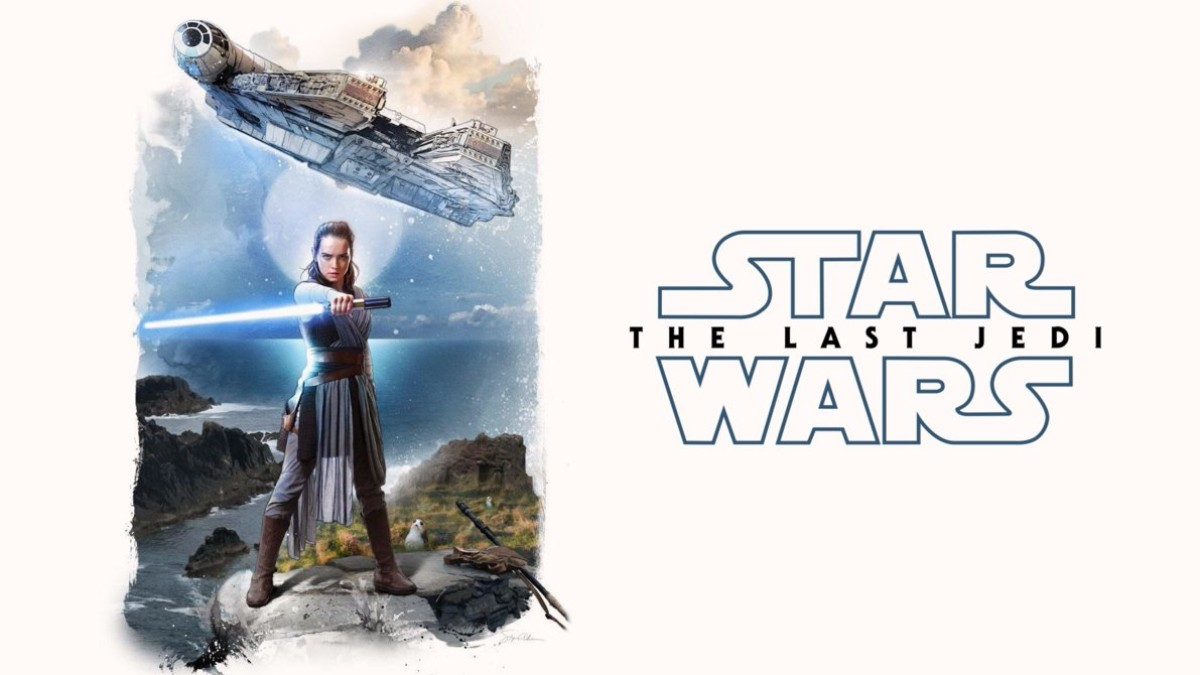 rey the last jedi star wars wallpaper