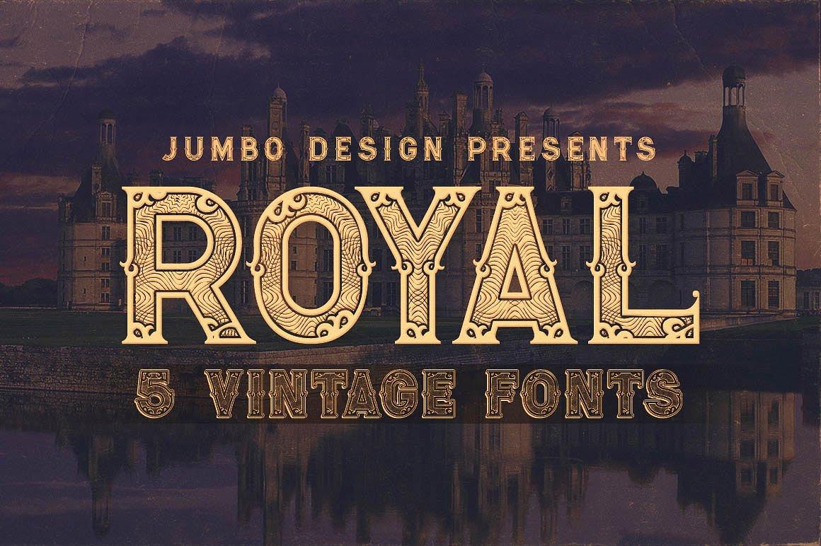 Royal Vintage Style Font