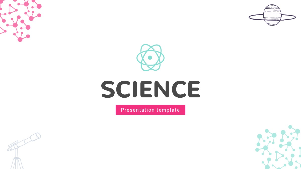 science google slides theme