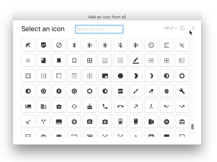 sketch-icon-font