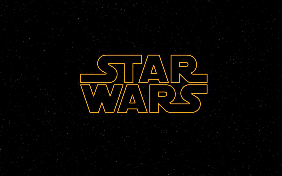 star wars official logo wallpaper