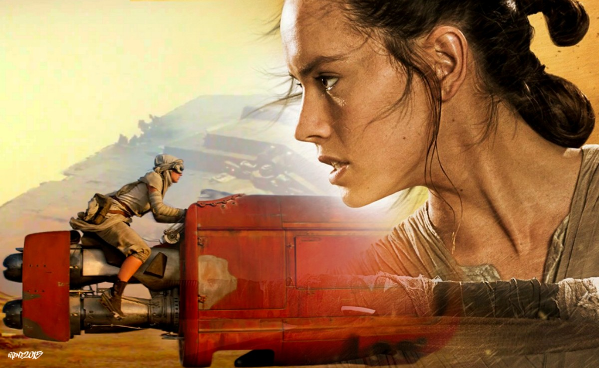 star wars the force awakens rey wallpaper